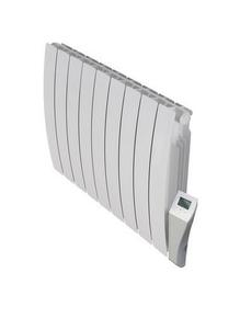 Radiateur à inertie sèche PANARO modèle cintré Long.40cm Haut.58cm Ép.10cm coloris Blanc 1000W DELTACALOR - Gedimat.fr