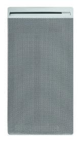 Panneau rayonnant életronique EDISON modèle Vertical Long.45cm Haut.80cm Ép.11,8cm 1000W Blanc - Gedimat.fr