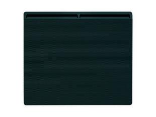 Panneau rayonnant életronique EDISON modèle Horizontal Long.80cm Haut.45cm Ép.11,5cm 1500W Gris - Gedimat.fr