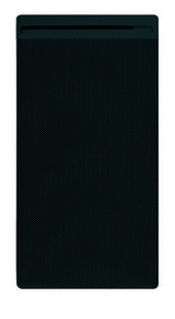 Panneau rayonnant életronique Edison 1000W Gris Vertical - Gedimat.fr