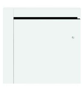 Radiateur à inertie fonte ZINA modèle Horizontal Long.59cm Haut.58cm Ép.11,7cm coloris Blanc 1000W CHAUFELEC - Gedimat.fr