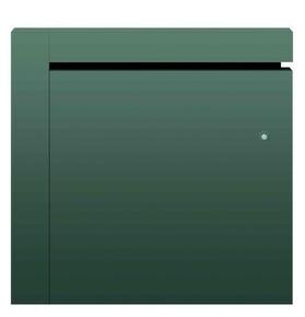 Radiateur à inertie fonte ZINA modèle Horizontal  Long.59cm Haut.58cm Ép.11,7cm coloris Gris 1000W CHAUFELEC - Gedimat.fr