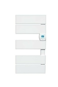 Radiateur sèche-serviettes VADIM Blanc 1250W CHAUFELEC - Gedimat.fr