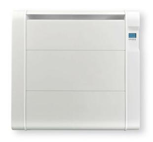 Radiateur céramique fonte inertie sèche 1000W Blanc - Gedimat.fr