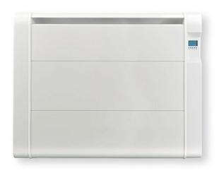 Radiateur céramique fonte inertie sèche 1500W Blanc - Gedimat.fr