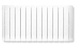 Radiateur à inertie fluide LAGAN Blanc 2000W Long.107,5cm Haut.58cm Ép.12,5cm 28,10 kg - Gedimat.fr