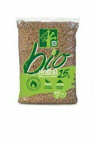 Granulés de bois BIO pour poêle à pellets sac de15kg - Gedimat.fr