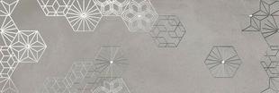 Carrelage pour mur intérieur CROMAT ONE 25cmx75cm ép.9,5mm Décor Debod grey B - Gedimat.fr