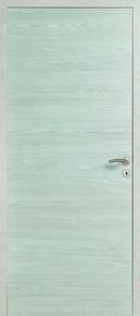 Porte seule INDA âme pleine coloris Chêne blanc haut.2,04m larg.83cm - Gedimat.fr