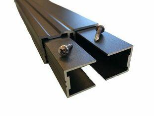 Lambourde aluminium structurelle ép. 30mm larg.60mm Long.3m laquée sur les 4 faces - Gedimat.fr