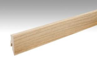 Plinthe 3PK plaqué chêne pure 60x20mm - 2,38m - Gedimat.fr