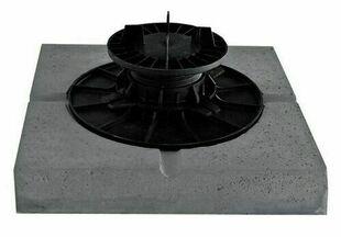 Dalle stabilisatrice béton pour plot vérin 280x280x50mm - Gedimat.fr