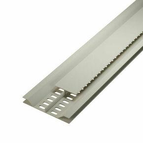 Grille de ventilation dissimulée ép.12 mm larg.92 mm long.4 m Sable - Gedimat.fr