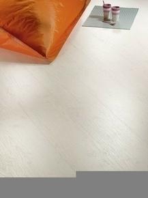 Sol stratifié CLIP 400 ép.8mm larg.192mm  long.1286 mm finition Pin blanc - Gedimat.fr