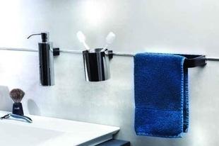Porte-serviette en laiton 20 cm - Gedimat.fr