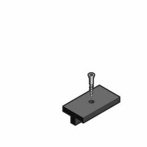 Clip de fixation + vis inox 39mm pour lame Composite SWING- SAMBA & ORIGIN Boîte de 250 pièces - Gedimat.fr