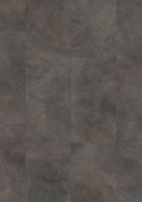 Sol stratifié rigide  à cliquer CLASSIC PLANK lames Long.303mm larg.610 mm Ép.5mm Béton métallique oxyde - Gedimat.fr