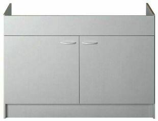 Meuble sous évier à poser SINOP 2 portes 120 x 60 cm - Gedimat.fr