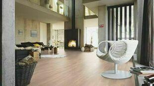 Plinthes pour parquet contrecollé PC200 60x20mm 2,40m finition Chêne blanc crème - Gedimat.fr