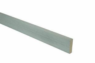 Profil de finition Composite co-extrudée ép.20mm larg.70mm long.2m Gris Belem - Gedimat.fr