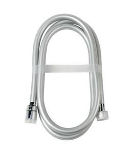 FLEXIBLE PVC SILVER TWIST 1M75 - Gedimat.fr