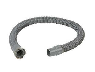 Raccord flexible PVC gris FITOFLEX diam.32 mm avec un embout métal à visser et un embout à coller - Gedimat.fr