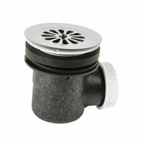 Bonde de douche à grille pour receveur de douche percé en diam.60 mm - Gedimat.fr