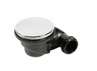 """Bonde de douche orientable """"La Goulue"""", avec capot ABS pour receveur percé en diamètre 90 mm - Gedimat.fr"""