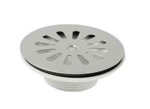 Bonde à grille pour tout type d'évier percé en diam.60mm - Gedimat.fr
