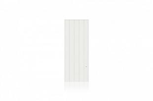 Radiateur Connecté à inertie réfractite MANON modèle Vertical coloris Blanc 1500W CHAUFELEC - Gedimat.fr