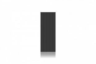 Radiateur Connecté à inertie réfractite MANON modèle Vertical coloris Gris 1500W CHAUFELEC - Gedimat.fr