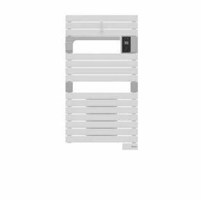 Radiateur sèche-serviettes ASAMA connecté ventilo 1500W Blanc SAUTER - Gedimat.fr