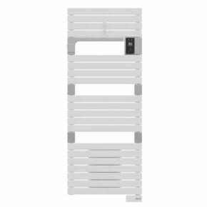 Radiateur sèche-serviettes ASAMA connecté ventilo 1750W Blanc SAUTER - Gedimat.fr