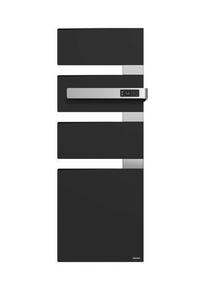 Radiateur sèche-serviettes ALUTU music mat droite coloris Anthracite 750W SAUTER - Gedimat.fr