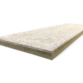 Panneau composite ROCKFEU WOOD A2 RsD - 2x0,60m Ep.145mm - R=4,35m².K/W. - Gedimat.fr