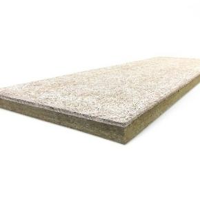 Panneau composite ROCKFEU WOOD B RsD - 2x0,60m Ep.85mm - R=2,65m².K/W. - Gedimat.fr