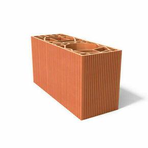 Brique double poteau 15 - 540x200x274mm - Gedimat.fr
