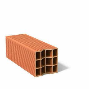Brique C à gorge 12 trous - 500x200x200mm - Gedimat.fr
