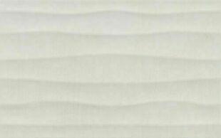 Carrelage pour murs intérieurs COSY 25cmx40cm Ép.7,5mm décor mat cosy wave white - Gedimat.fr