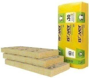 Laine de verre GR 30 revêtue Kraft - 1,35x0,60m Ep.90mm - R=3,00m².K/W. - Gedimat.fr
