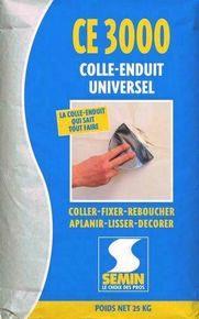 Colle enduit multifonctions CE 3000 - sac de 25kg - Gedimat.fr
