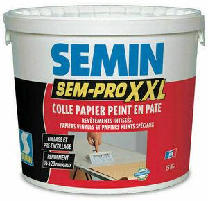 Colle papier peint SEM PRO XXL - seau de 15kg - Gedimat.fr