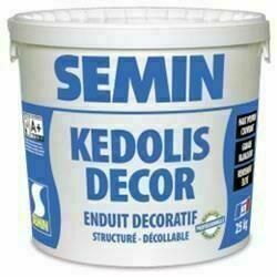 Enduit décoratif KEDOLIS DECOR - sac de 25kg - Gedimat.fr