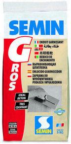 Enduit de dégrossissage SEMIN G - sac de 5kg - Gedimat.fr