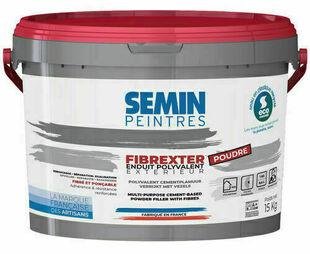 Enduit fibre FIBREXTER - seau de 15kg - Gedimat.fr