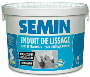 Enduit de lissage pâte - seau de 4kg - Gedimat.fr