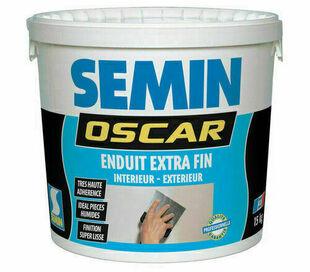 Enduit pâte super fin OSCAR - pot de 15kg - Gedimat.fr