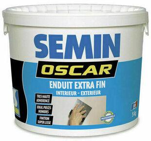 Enduit pâte super fin OSCAR - pot de 5kg - Gedimat.fr