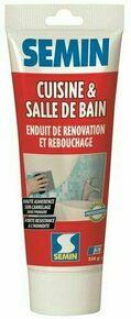 Enduit de rebouchage cuisine et bain - tube de 330gr - Gedimat.fr