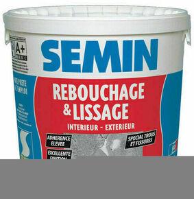 Enduit de rebouchage lissage pâte intérieur/extérieur - seau de 1,50kg - Gedimat.fr